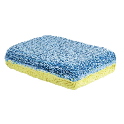 Éponge microfibre Eponge double face<br>Lot de 10